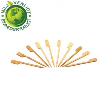 100 stk Bambusstikker GOLF 9 cm