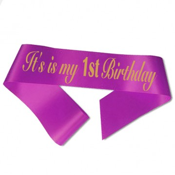 1st Birthday ordensbånd