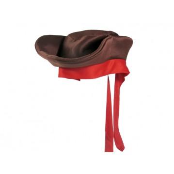 Pirat Jack hat med rød bånd