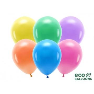 "100 stk. Økologiske mix balloner str. 10"""