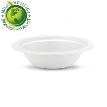 50 stk Miljø suppetallerken 400ml økologiske