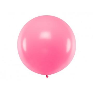 1 stk Kæmpe pink ballon - 1 meter