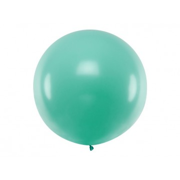 1 stk Kæmpe skov grøn ballon - 1 meter