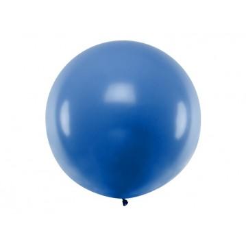 1 stk Kæmpe blå ballon - 1 meter