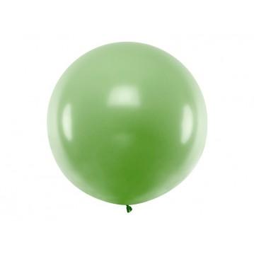 1 stk Kæmpe grøn ballon - 1 meter