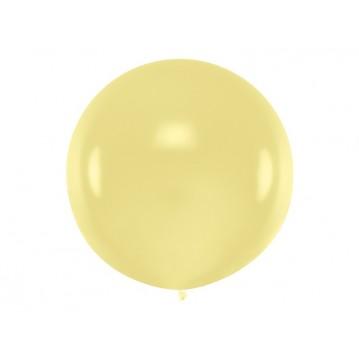1 stk Kæmpe creme ballon - 1 meter