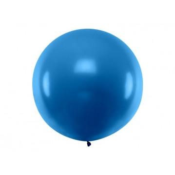 1 stk Kæmpe navy blå ballon - 1 meter