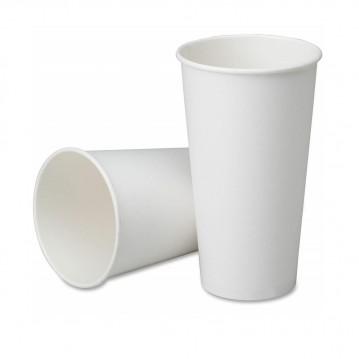 50 stk Hvide bæger til varme drikke, 360ml