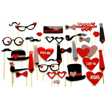 33 Stk. Props - Love me - Fotos sticks