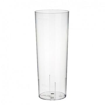 10 stk Longdrink luksus plastglas 30cl