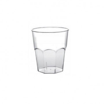50 stk. Luksus Shotglas 50 ml - Ottekantet