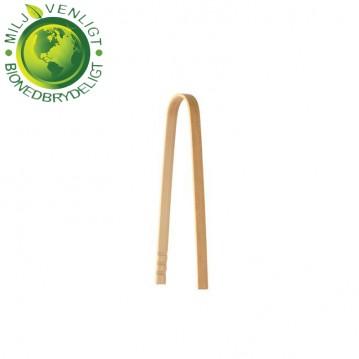 10 stk Bambus tang træbestik - BIO produkt