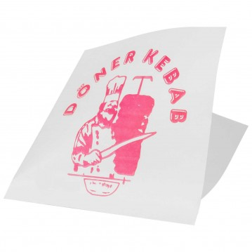 250 Stk. Kebab pita lomme - Papir