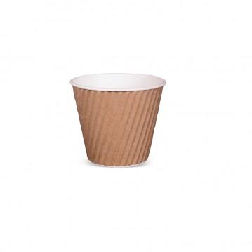 40 stk Kaffebæger - Ripple-Wrap™ dobbelt væg 120ml