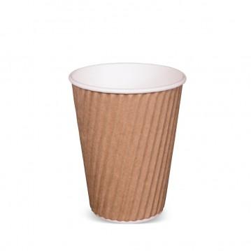 40 stk Kaffebæger - Ripple-Wrap™ dobbelt væg 280ml