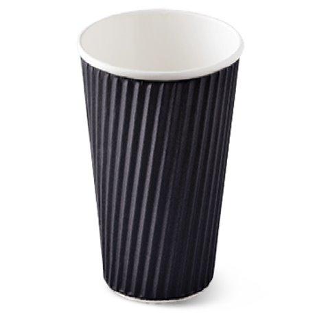25 stk Kaffebæger - Ripple-Wrap™ dobbelt væg 490ml