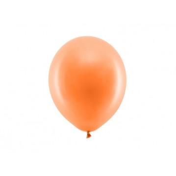 """100 stk Standard orange balloner - str 9"""""""