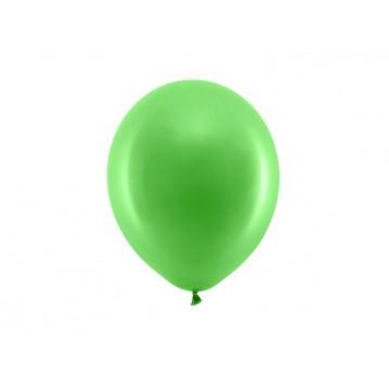 "100 stk Standard grøn balloner - str 9"""