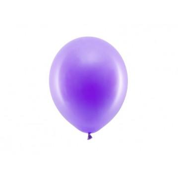 "100 stk Standard lilla balloner - str 9"""