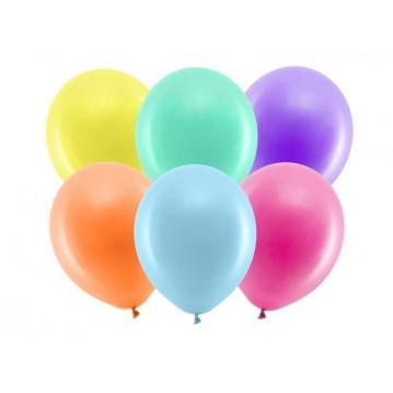 """100 stk Standard mix farvet balloner - str 12"""""""