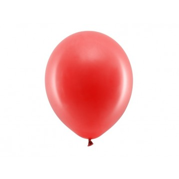 "100 stk Standard rød balloner - str 12"""