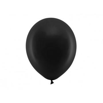 """100 stk Standard sort balloner - str 12"""""""