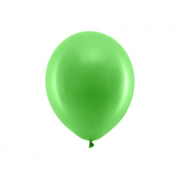 "100 stk Standard grøn balloner - str 12"""