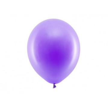 "100 stk Standard lilla balloner - str 12"""