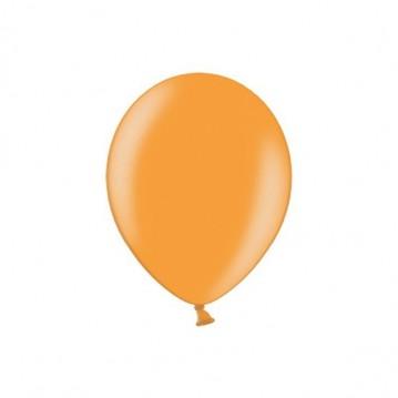 """100 stk Metallic lys orange balloner - str 5"""""""