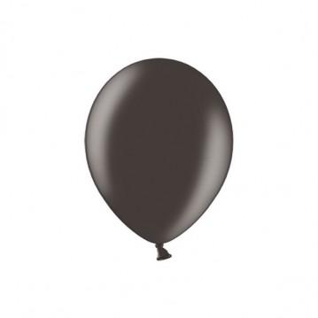 "100 stk Metallic sort balloner - str 5"""