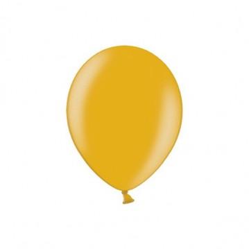 "100 stk Metallic guld balloner - str 5"""