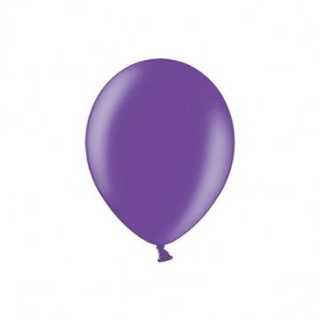 "100 stk Metallic lilla balloner - str 5"""