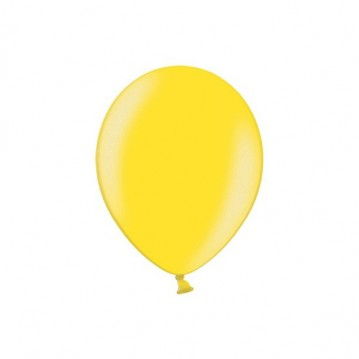 "100 stk Perle citron gul balloner - str 5"""
