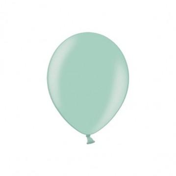 "100 stk Perle lysegrøn balloner - str 5"""