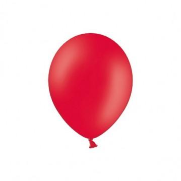 "100 stk Standard valmue rød balloner - str 5"""