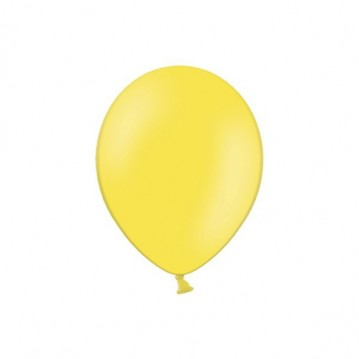 "100 stk Standard gul balloner - str 5"""
