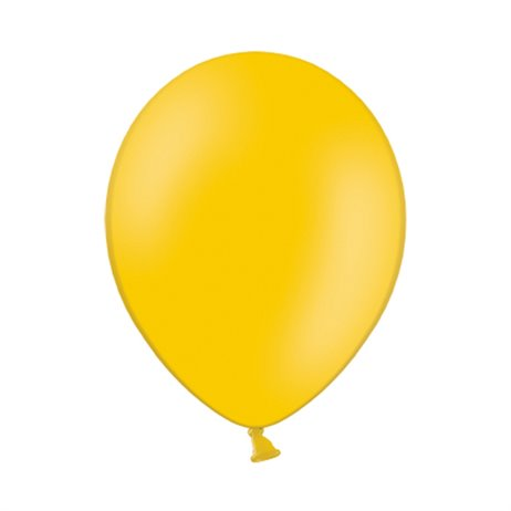 "100 stk Standard lys orange balloner - str 10"""
