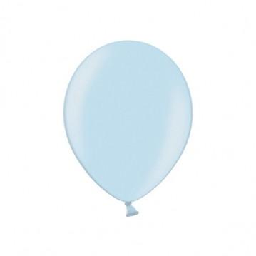 """100 stk Perle lyseblå balloner - str 9"""""""