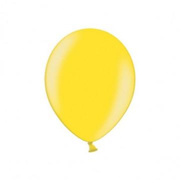 "100 stk Perle citron gul balloner - str 9"""