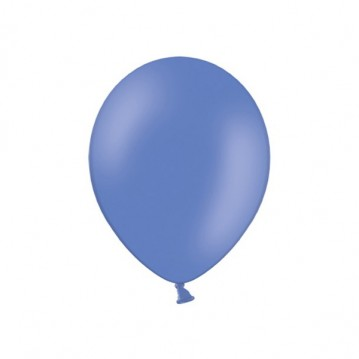 """100 stk Standard kornblomst blå balloner - str 9"""""""