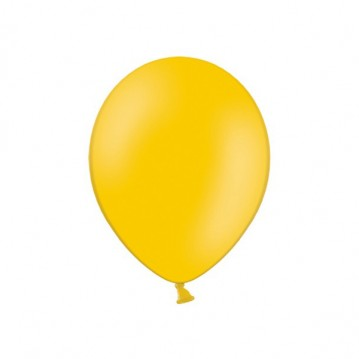 "100 stk Standard lys orange balloner - str 9"""