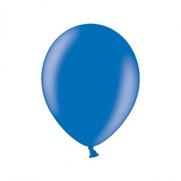 """10 stk Metallic royal blå balloner - str 10"""""""