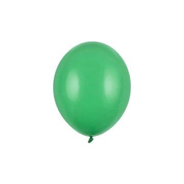 """10 stk Standard emerald grøn balloner - str 10"""""""