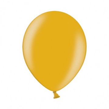 "100 stk Metallic guld balloner - str 12"""
