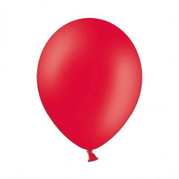 "10 stk Standard rød balloner - str 12"""