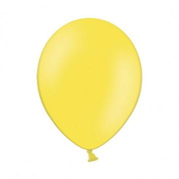 "10 stk Standard gul balloner - str 12"""