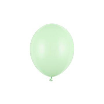 "10 stk Standard pistaciegrøn balloner - str 10"""