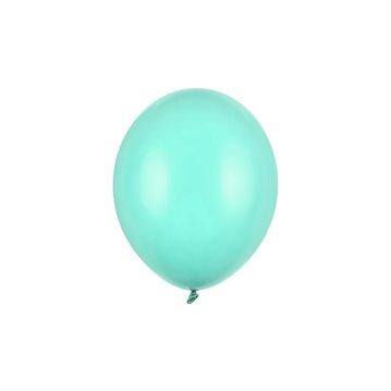 "10 stk Standard lys mintgrøn balloner - str 10"""