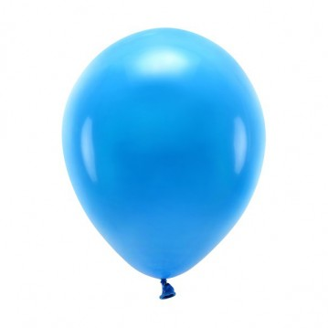 """100 stk. Økologiske blå balloner str. 10"""""""
