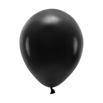 """100 stk. Økologiske sort balloner str. 10"""""""